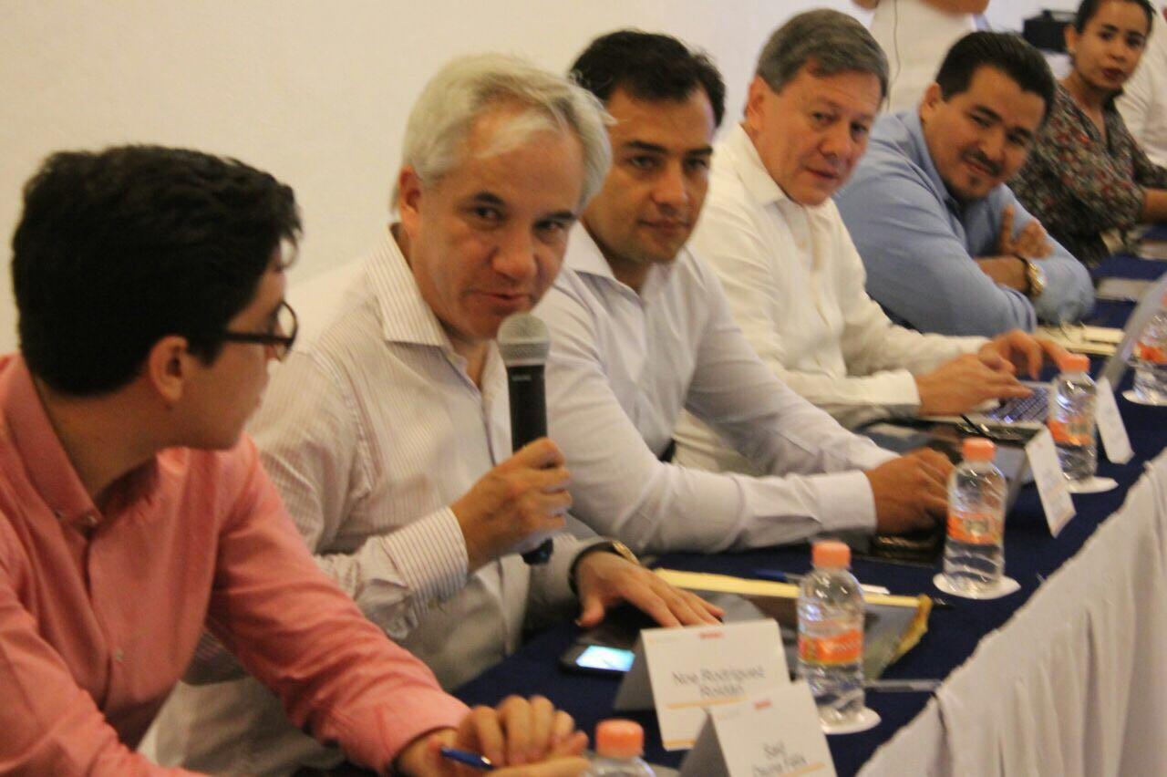 Participa Secte en reunión de movilidad