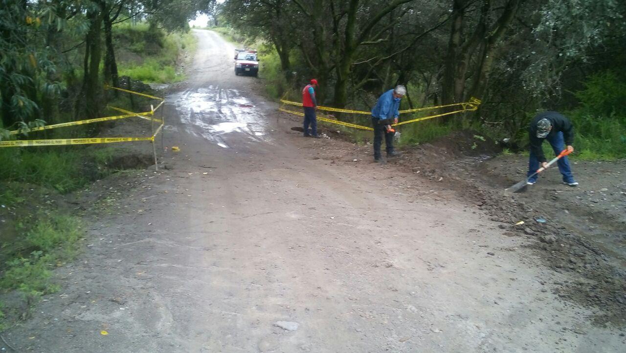 Realizan trabajos de prevención en Tzompantepec