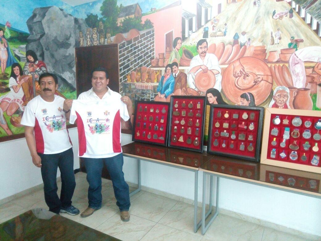 Alcalde reconoce trayectoria del medallista Francisco Guarneros Ramos