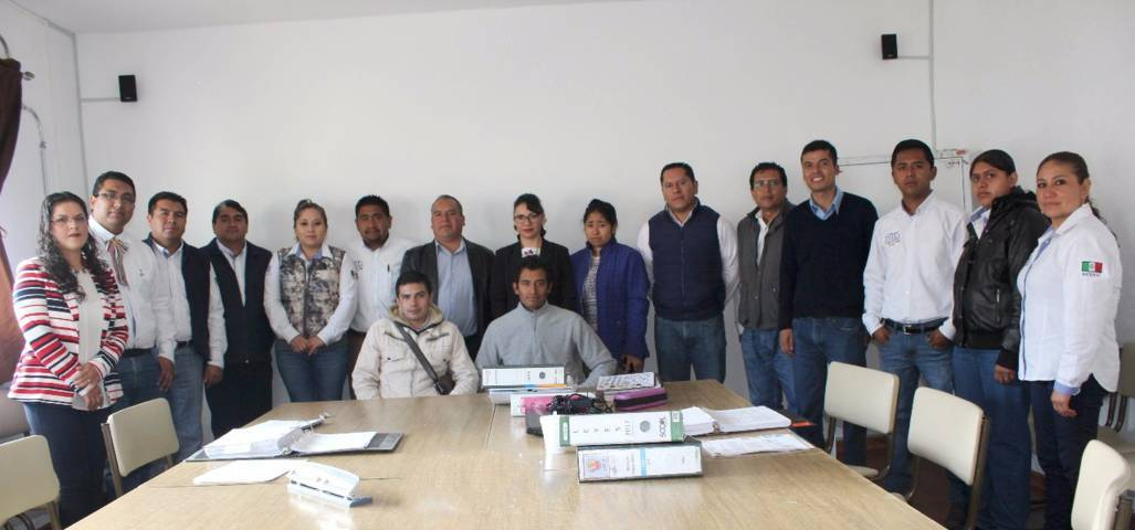Se realizó auditoria de verificación INAFED en el municipio de Tetla