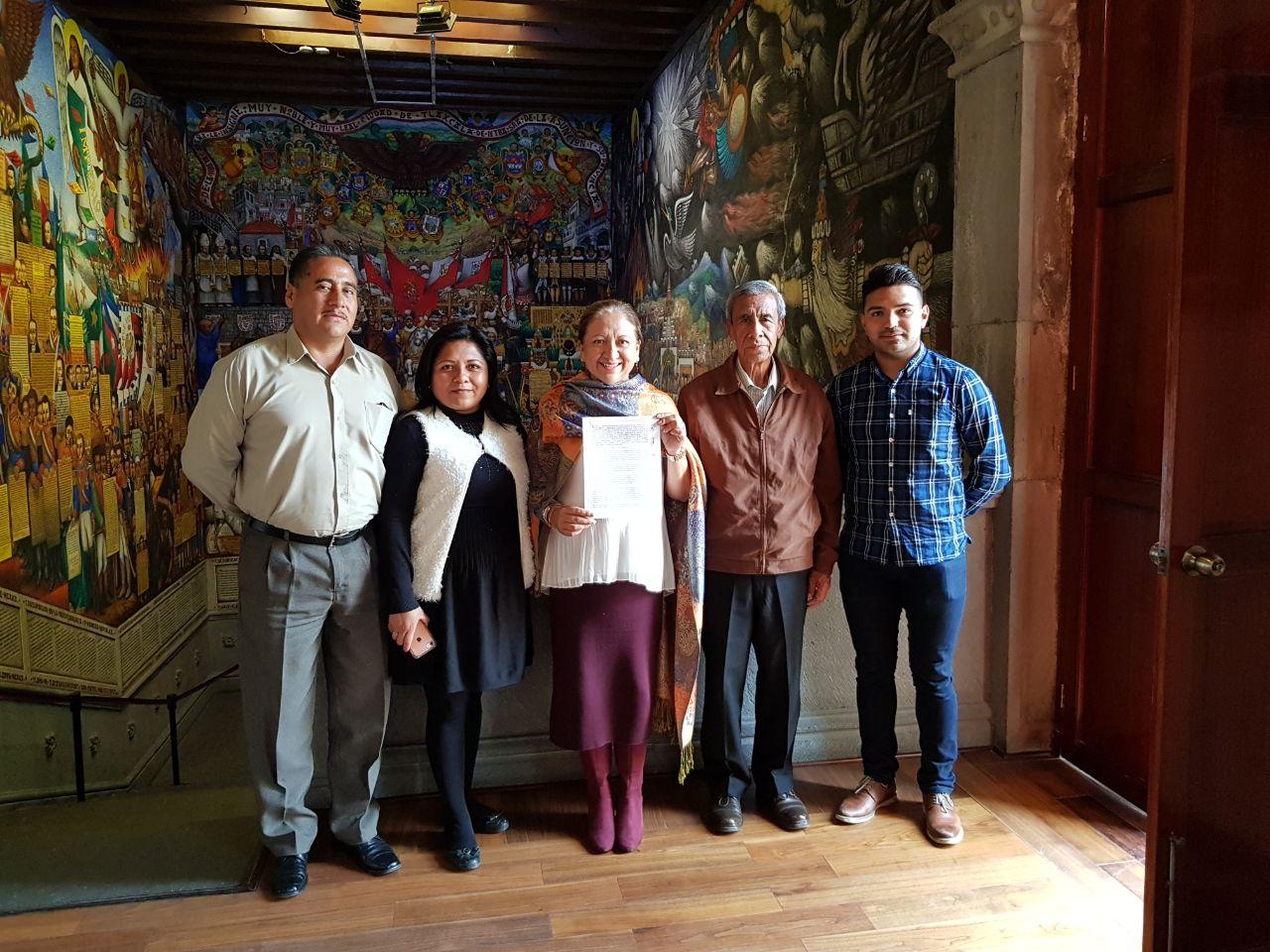 Firma Maribel Cervantes Hernández un nuevo convenio para el municipio