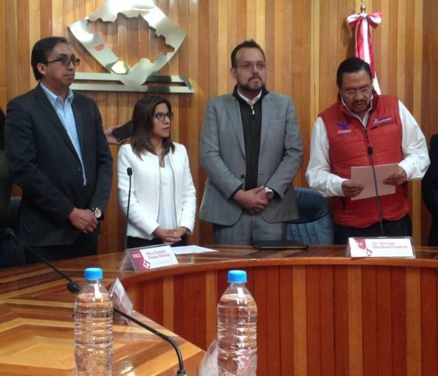 Firman PAN, PRD Y MC ante el ITE Frente Ciudadano por México