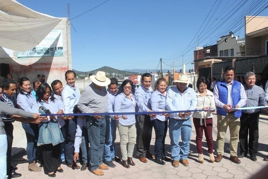 Vecinos de la calle Ocotes ya tienen una vialidad pavimentada: Villarreal Chairez