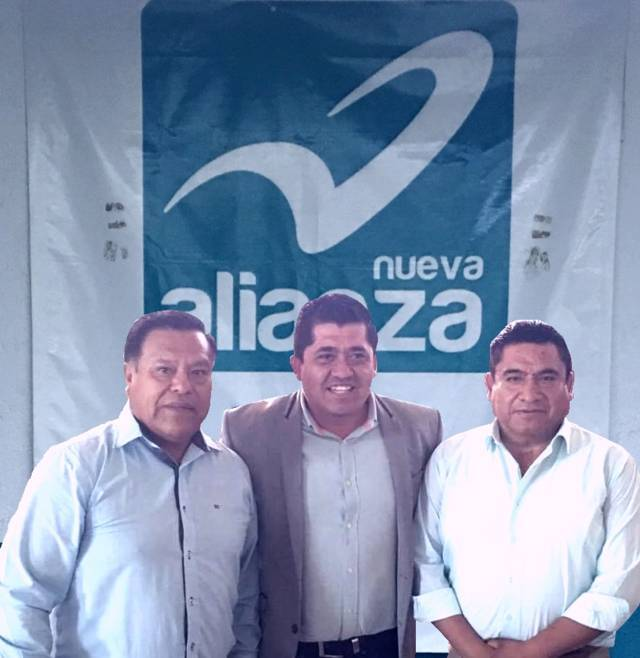 Ángel Márquez Peñaloza se registra como precanditato por Nueva Alianza