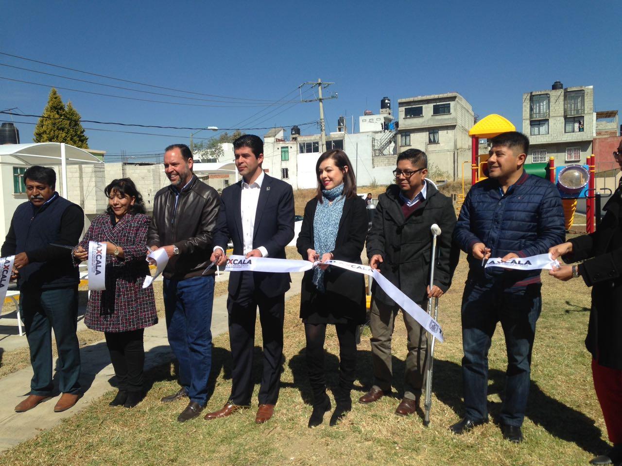 Abren nuevo Vive tu Parque en Tlaxcala; asiste la alcaldesa