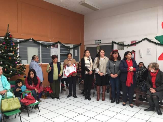 Celebra IMPCD  posada con pacientes y adultos mayores