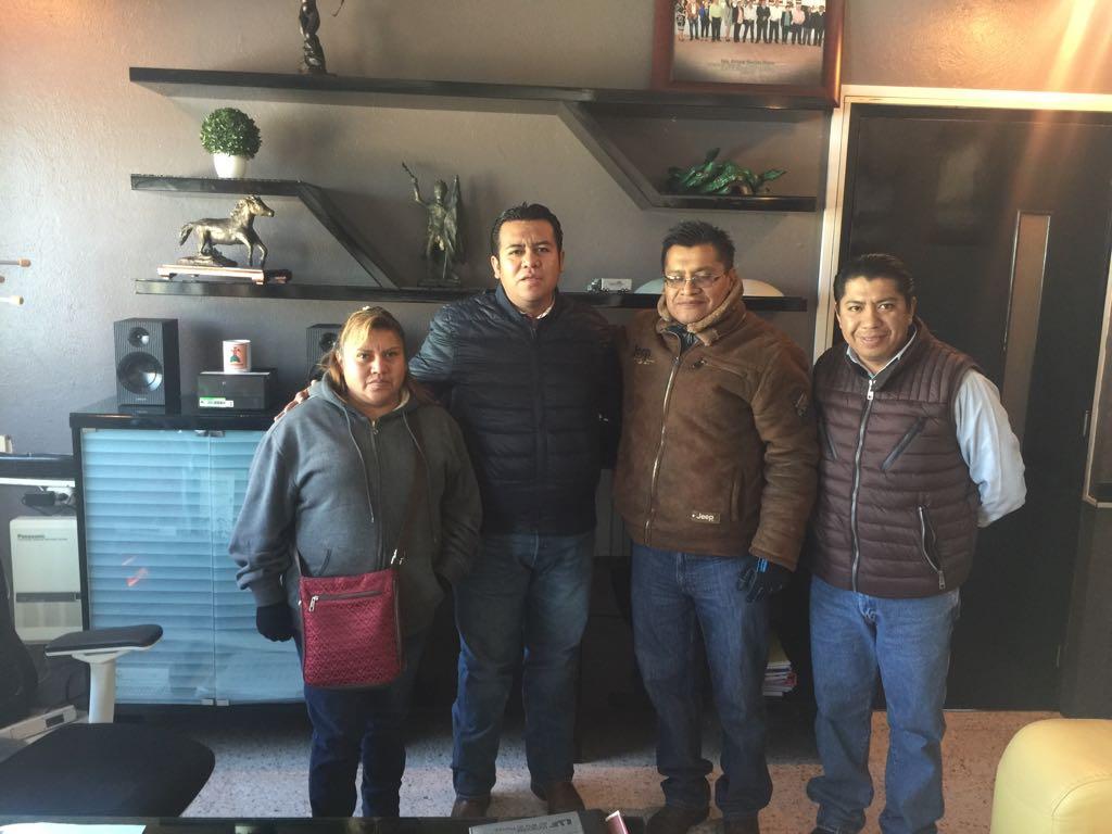 Alcalde se suma al plan de trabajo del CECyTE 07 de Ahuashuatepec