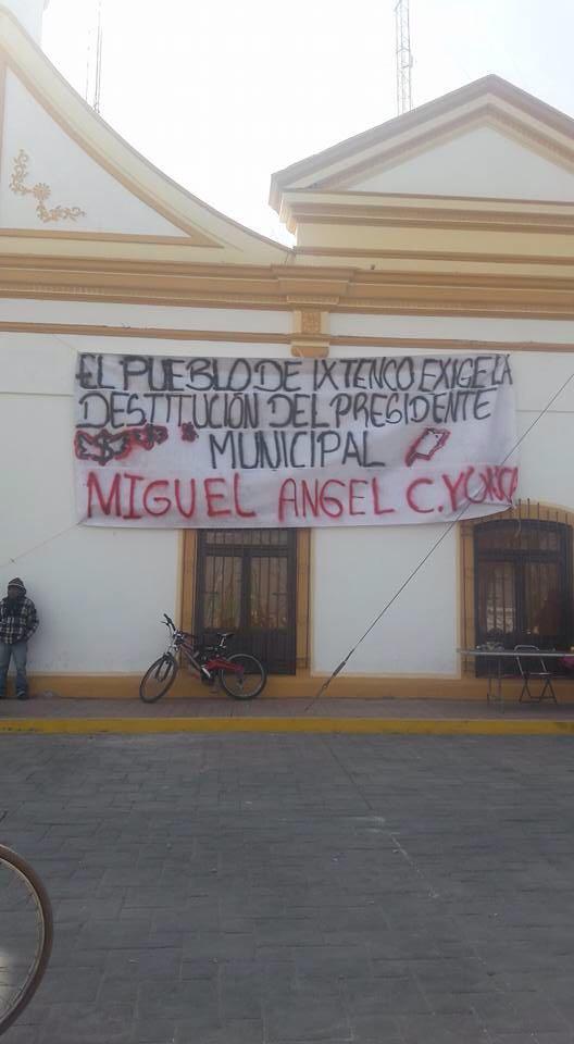 No hay marcha atrás, Caballero Yonca se tiene que ir por corrupto: pobladores de Ixtenco