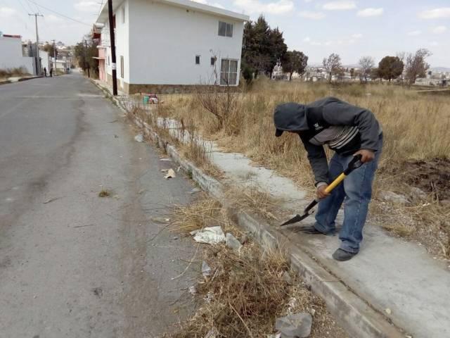 Alcalde implementa el programa de limpieza en las calles