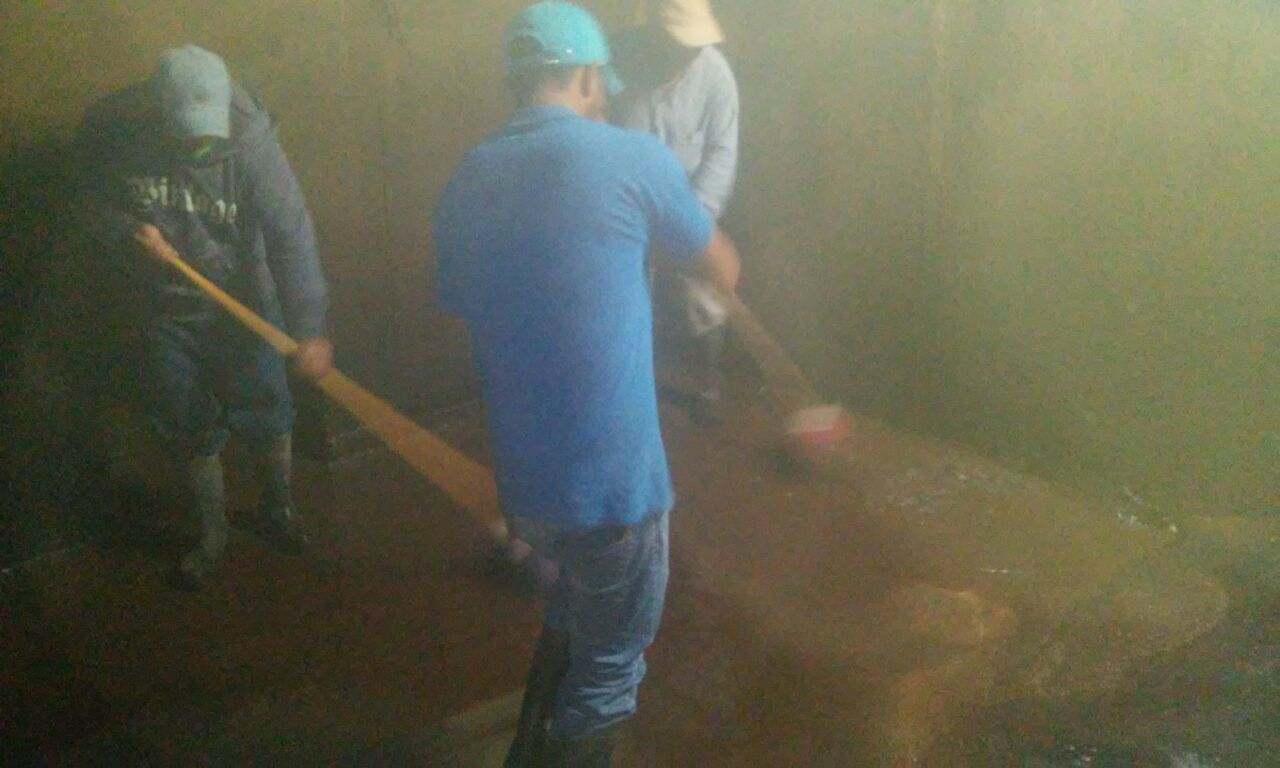 Ayuntamiento da mantenimiento a la cisterna de Otongatepec