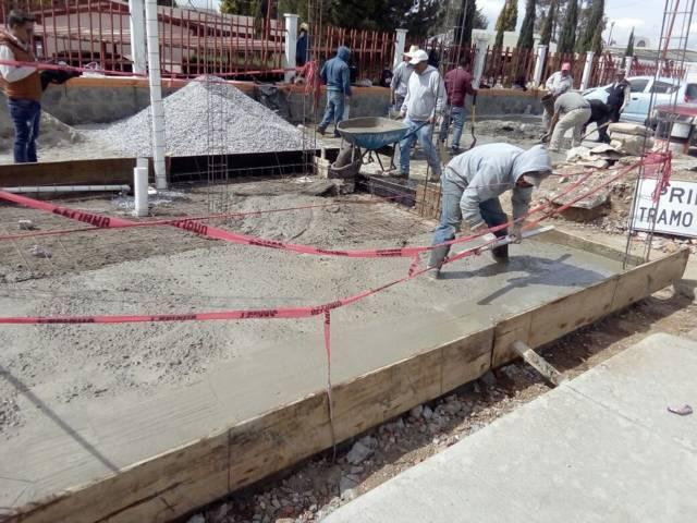 Alcalde refuerza la seguridad en Ahuashuatepec con caseta de vigilancia