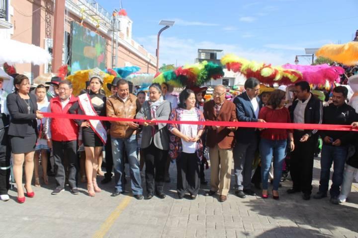 Alcalde Papalotla inaugura carnaval 2018