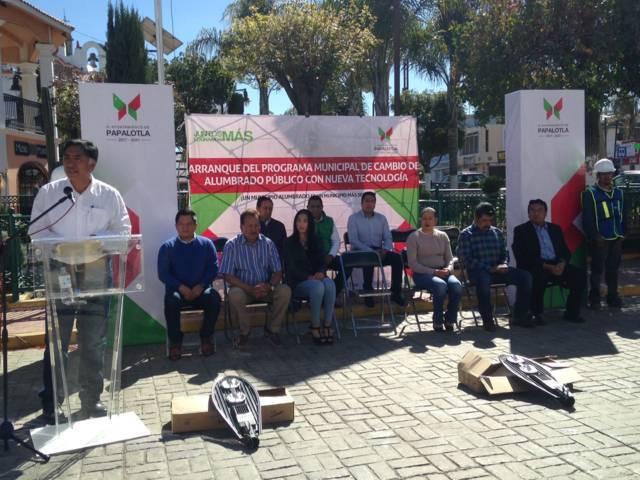 Arranca en Papalotla 2da. etapa del programa Un Municipio Alumbrado es un Municipio Más Seguro