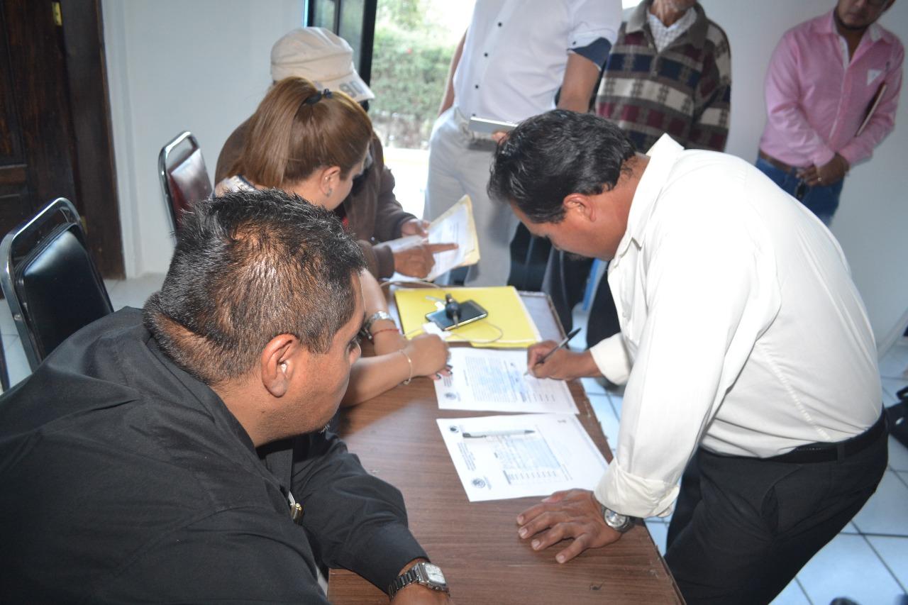 Se integran comité comunitario de San Andrés Ahuashuatepec