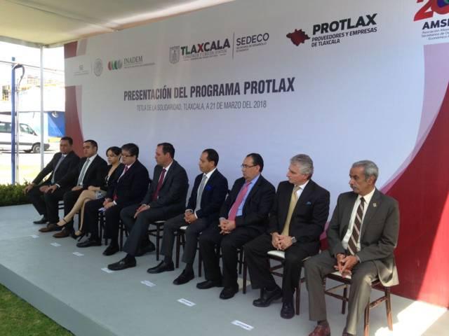 45 empresas formarán parte el proyecto PROTLAX