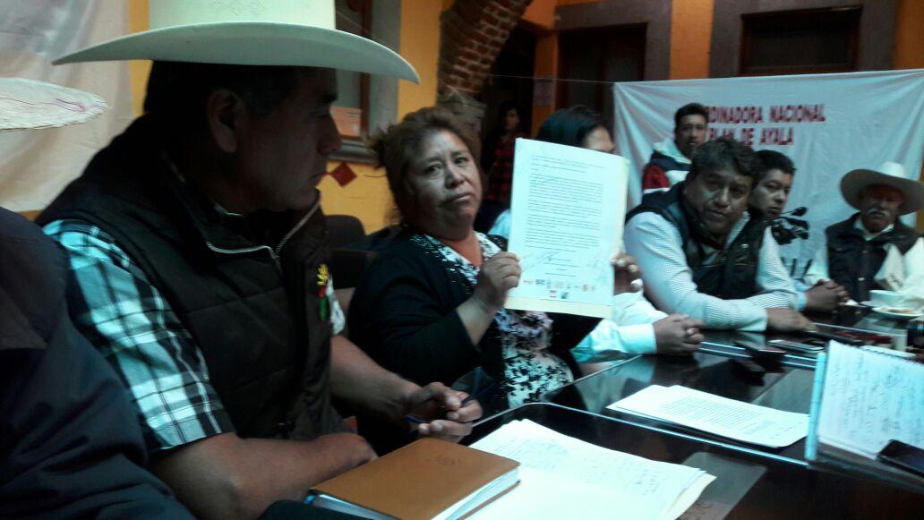 Campesinos aseguran fraude electoral el 1 de julio