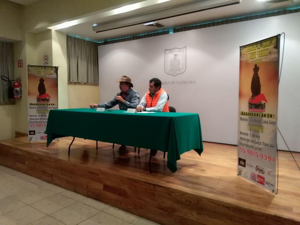 Presentan 1ra carrera de caballos en Tlaxco; se realizará en mayo