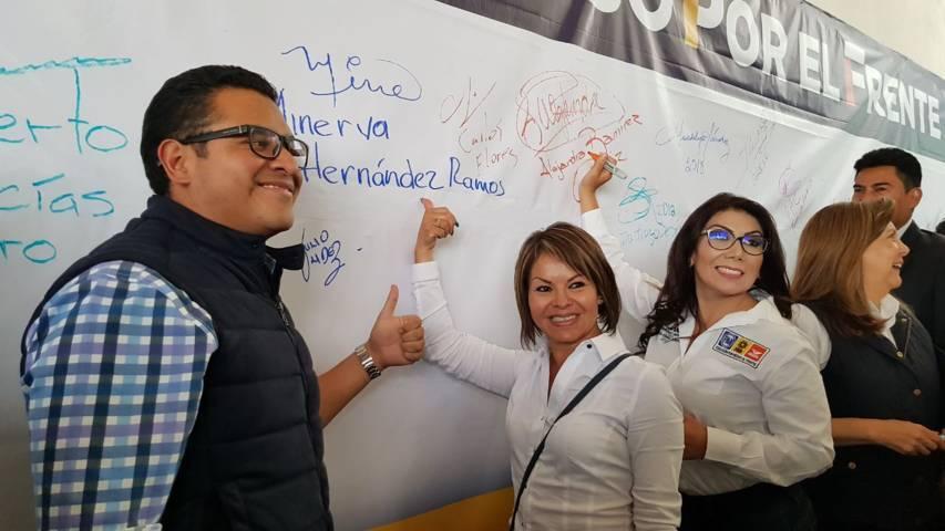 Ricardo Anaya tiene muchas posibilidades de ser Presidente: Frentistas