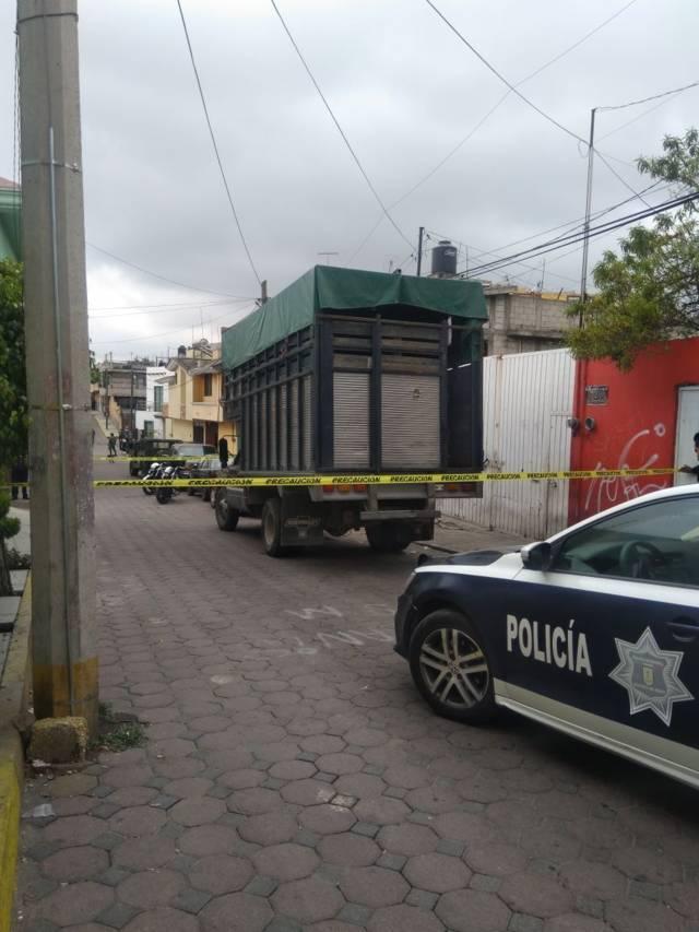 Recupera policía de San Pablo del Monte una camioneta robada