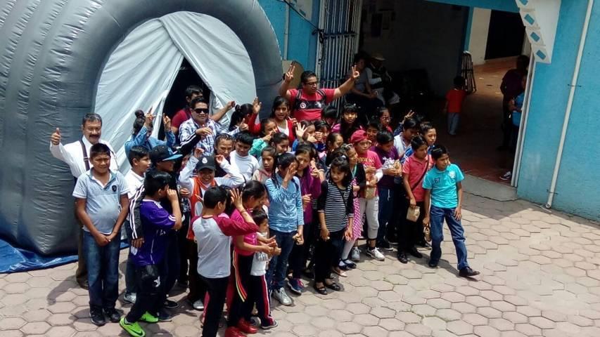 "Realiza alcaldía capitalina ""Jornada de Arte y Cultura"" en Cuauhtelulpan"