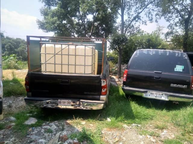 Recuperan 11 vehículos robados que eran usados para transportar hidrocarburo robado