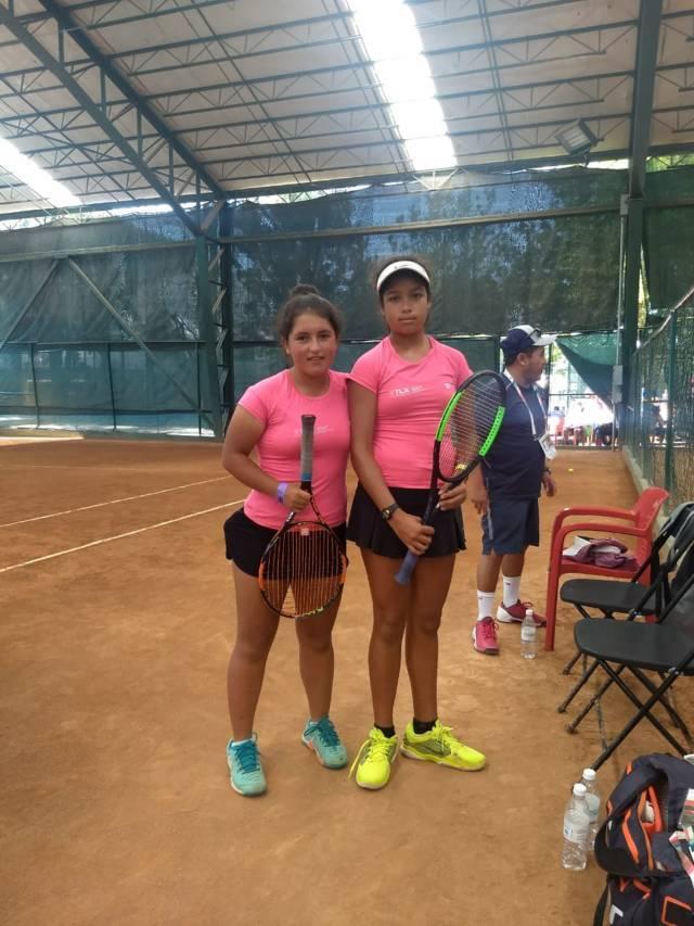 Avanza Magdalena Núñez y Luz Sánchez a la siguiente fase del tenis de olimpiada