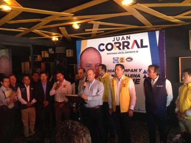 No quiero seguridad, solo quiero ganar el 1 de julio: Juan Corral