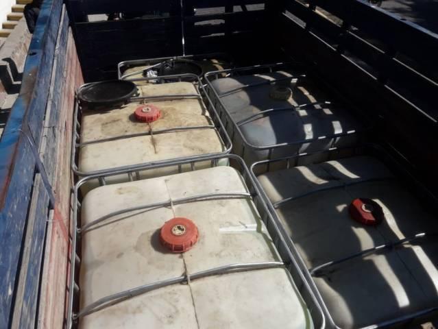 La CES y Policía Municipal aseguran un vehículo con huachicol en Ixtacuixtla