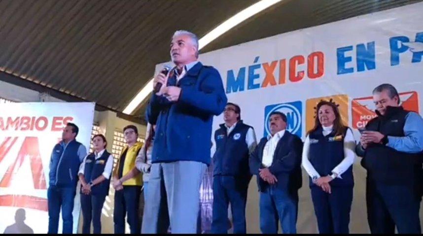 Dirigente Nacional del PAN dejó plantados a sus candidatos