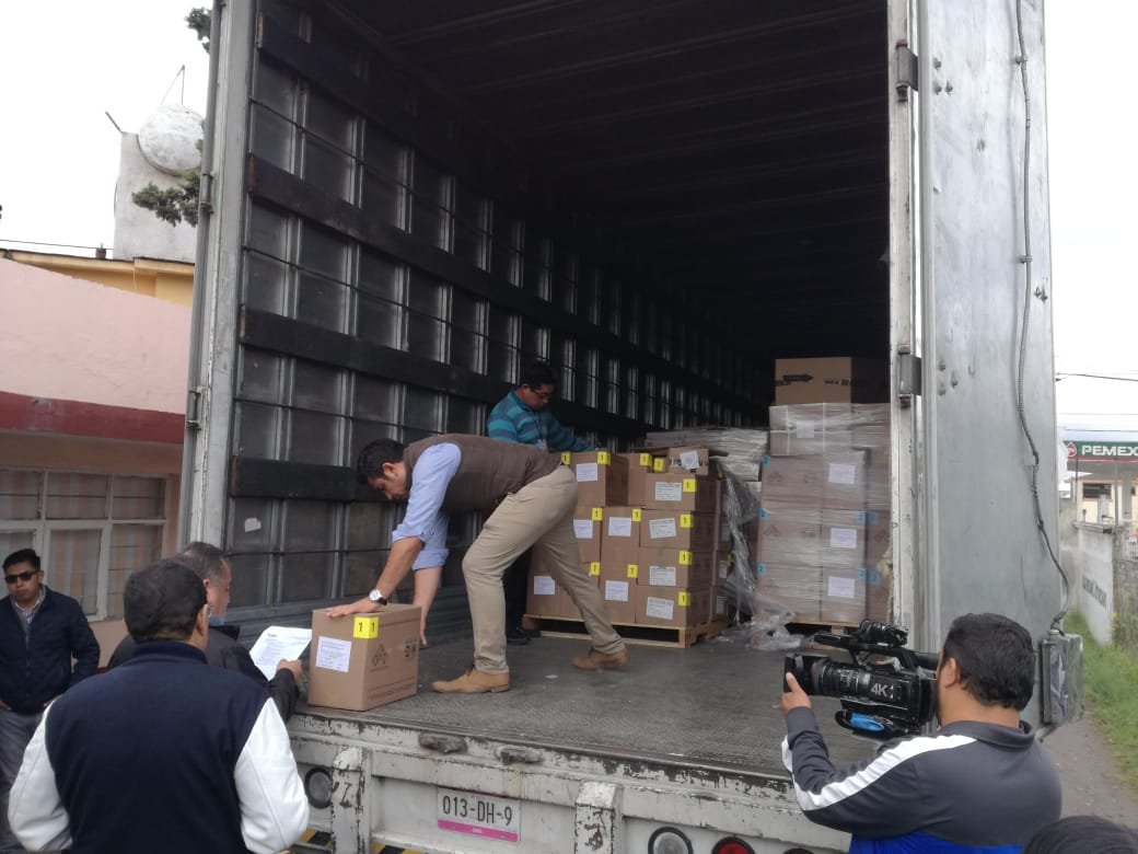 Próximo lunes se entregan paquetes electorales a presidentes de casilla