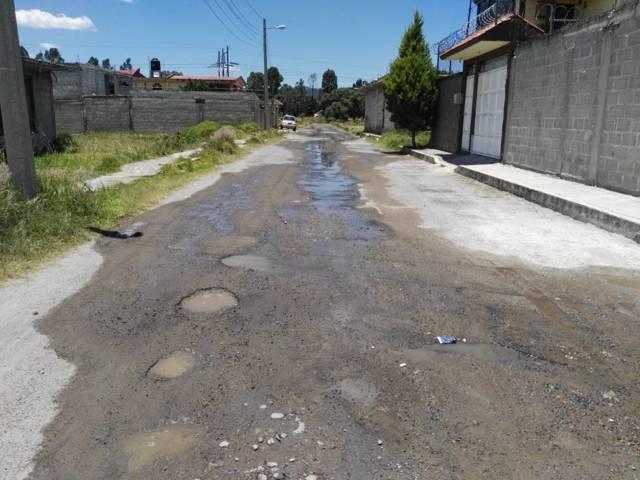 Fuga de agua provocada por CFE ocasiona afectaciones en el suministro de agua potable