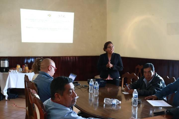 Recibe personal de la administración de Chiautempan foro para identificar necesidades de mujeres