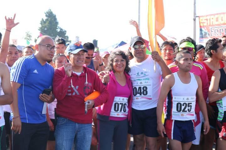 """200 corredores participaron en la carrera """"Un Atleta Con Futuro"""""""