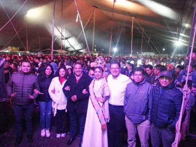 Con magno concierto, Domínguez clausura la Feria Chiautempan 2018