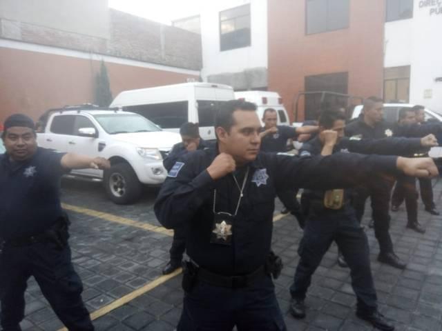 """Imparte Seguridad Pública Capitalina capacitación """"Formación Inicial Policial"""""""