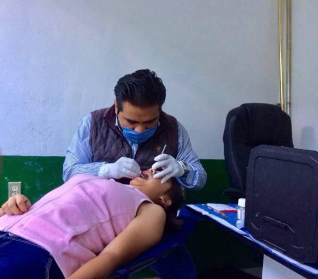 """Supera metas """"Jornada de salud bucal vacacional"""" en la capital"""