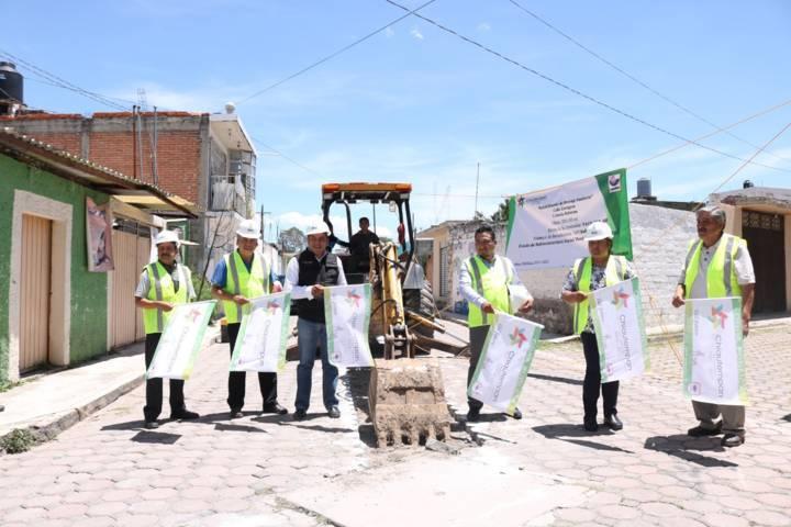 Héctor Domínguez Rugerio da banderazos para la rehabilitación de drenajes