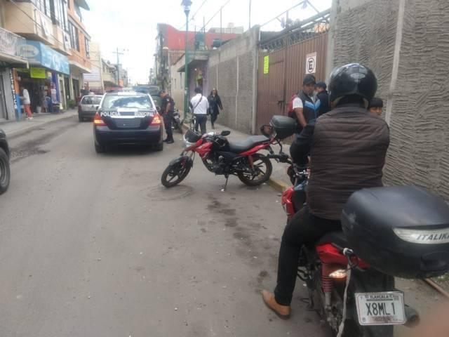 Policía Municipal De Chiautempan recupera motocicletas con reporte de robo