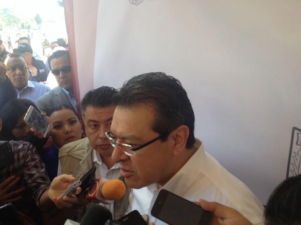 Mena evitó opinar sobre la ausencia del PRI en la LXIII Legislatura