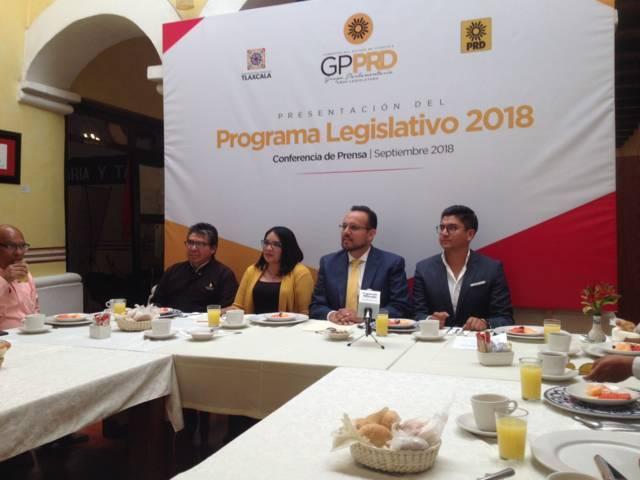 PRD busca coincidencia con Morena para aprobar sus iniciativas
