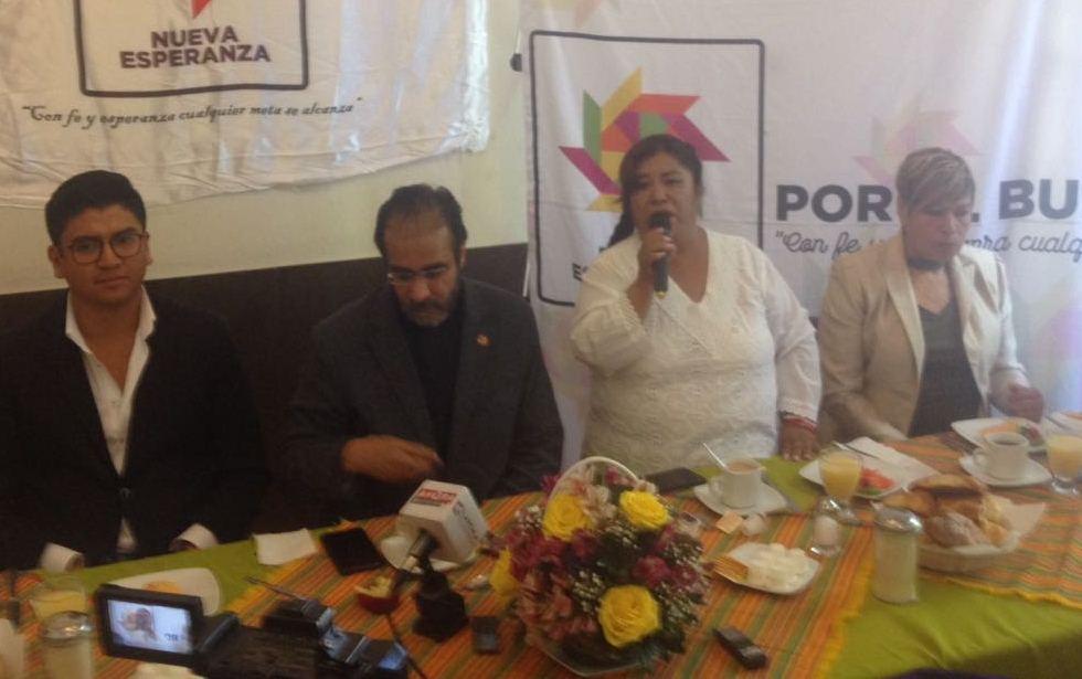Bejarano llama a la unidad rumbo a la renovación del gobierno estatal