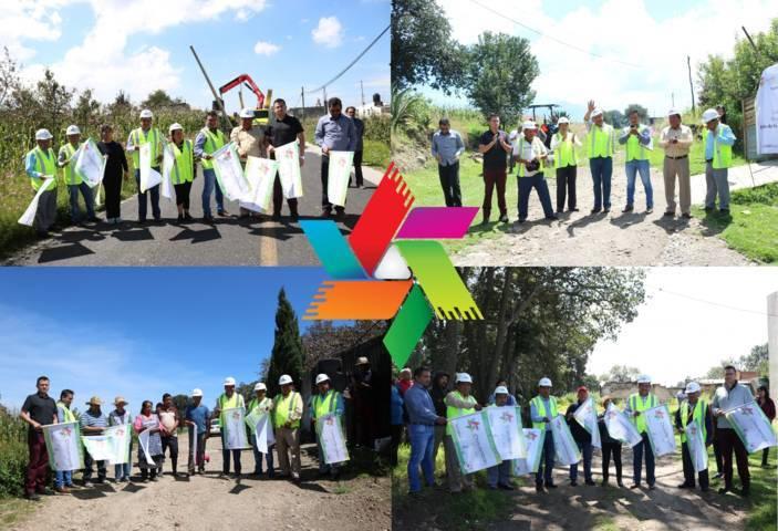 Lleva Héctor Domínguez Rugerio ampliación de red para energía eléctrica en las comunidades