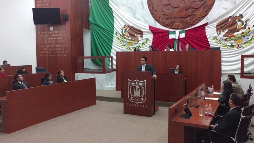 Garrido exhorta al Grupo Parlamentario del Congreso, a combatir la corrupción