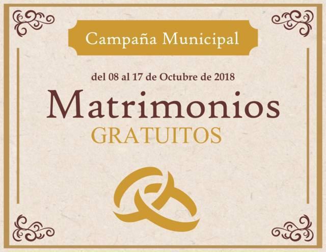 Inicia Campaña Municipal de Matrimonios Gratuitos