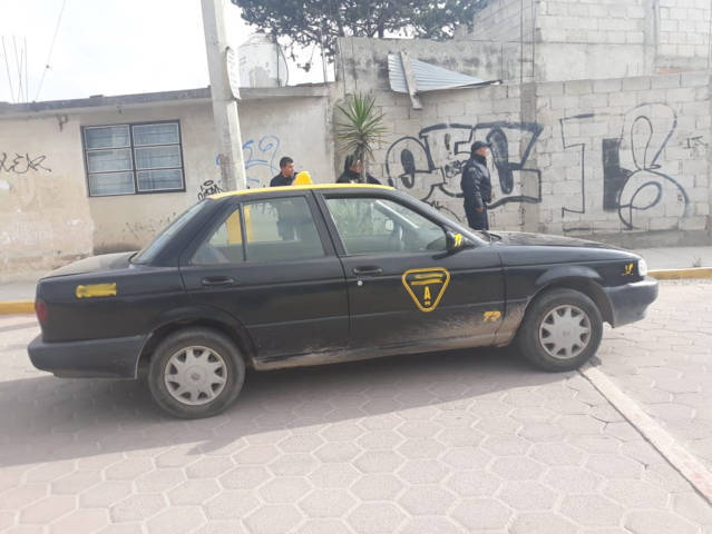 Policía Municipal detienen a presunto ladrón quien a había robado a taxista