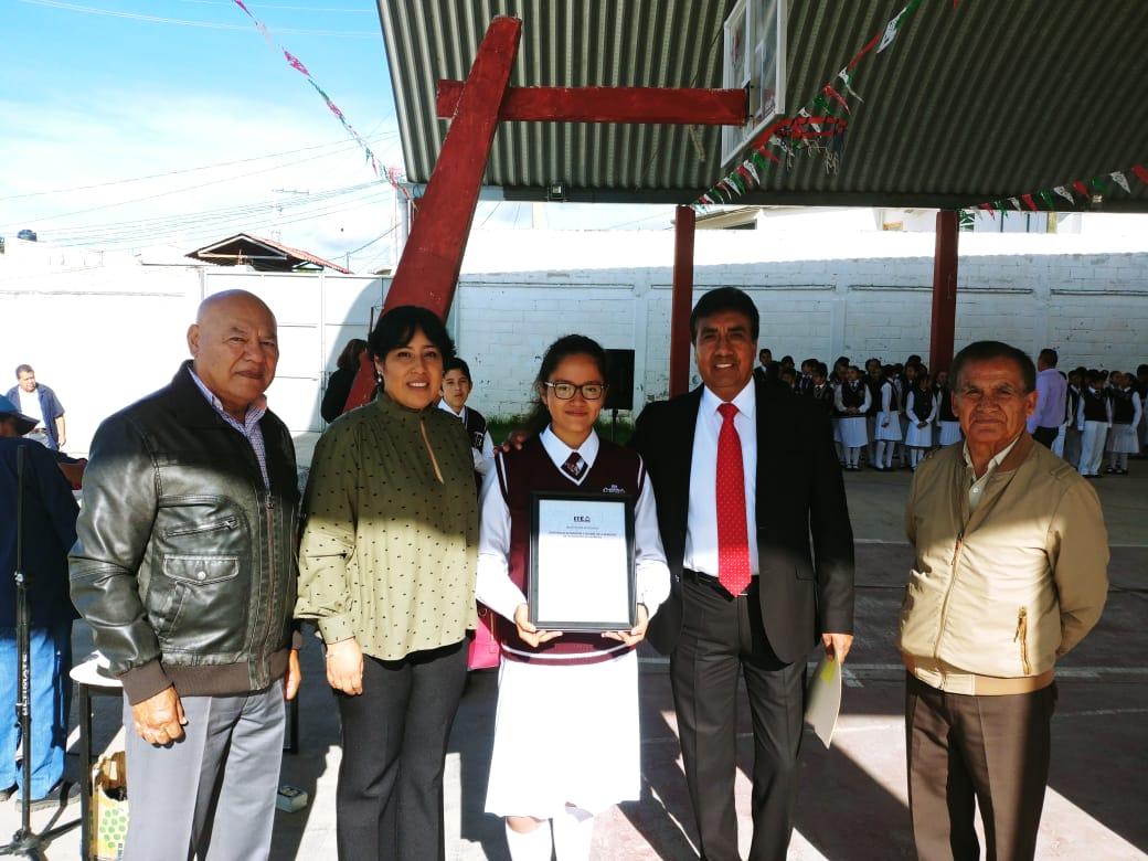 Concluyen ITE y comuna capitalina proceso electoral en secundaria Técnica de Ixtulco