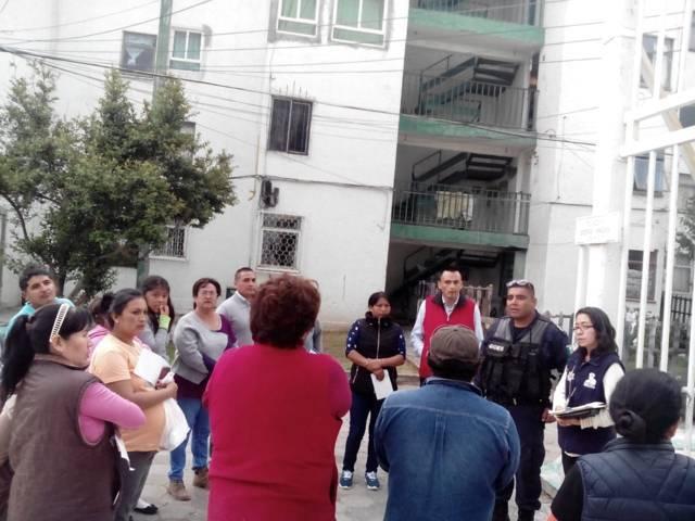 Suma el Gobierno Municipal más cerca de ti; comités vecinales en Apizaco