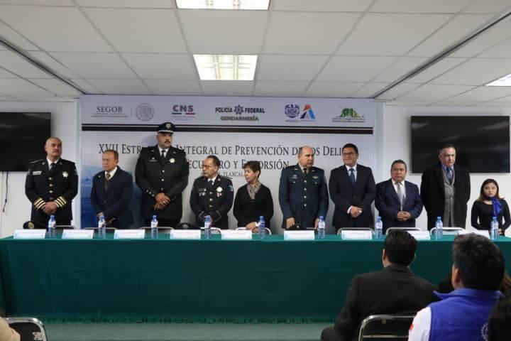 Presentan en el ITA XVII Estrategia de Prevención de los Delitos de Secuestro y Extorción