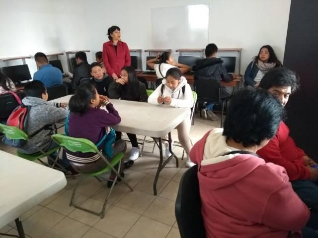 """Apertura comuna capitalina curso de """"inglés para principiantes"""" en Atlahapa"""