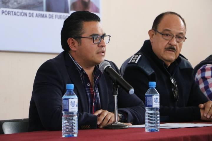 Presenta alcalde de Apizaco reforzamiento del plan de Seguridad